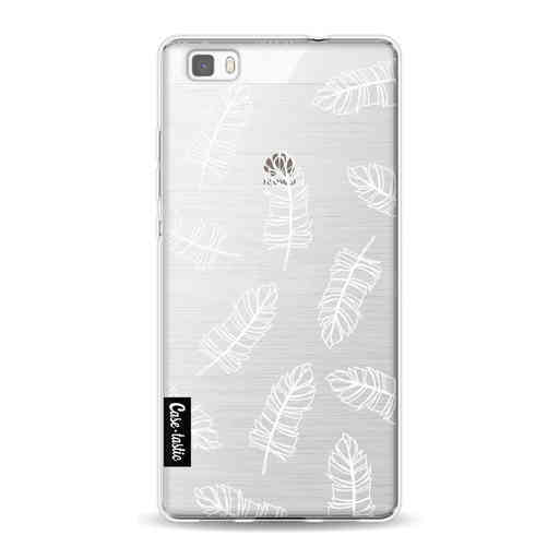 Casetastic Softcover Huawei P8 Lite (2015) - Feathers Outline
