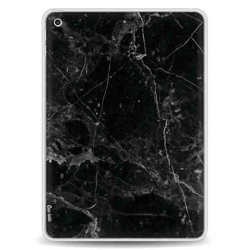 Casetastic Softcover Apple iPad 9.7 2017 / 2018 - Black Marble