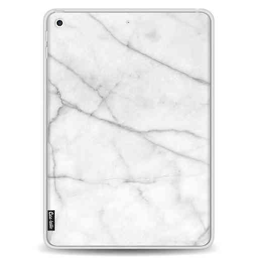 Casetastic Softcover Apple iPad 9.7 2017 / 2018 - White Marble