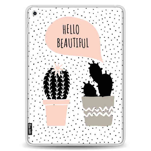 Casetastic Softcover Apple iPad 9.7 2017 / 2018 - Cactus Love