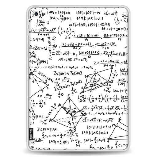 Casetastic Softcover Apple iPad 9.7 2017 / 2018 - You Do The Math White