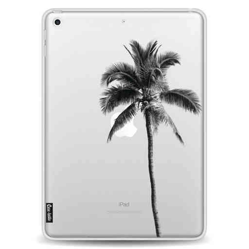 Casetastic Softcover Apple iPad 9.7 2017 / 2018 - Palm Tree Transparent