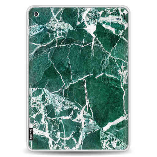 Casetastic Softcover Apple iPad 9.7 2017 / 2018 - Dark Green Marble