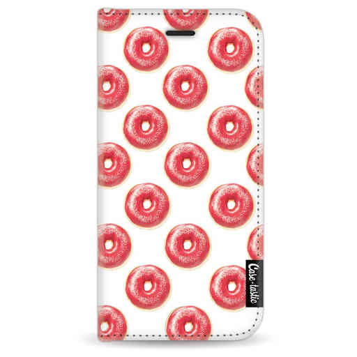 Casetastic Wallet Case White Apple iPhone 7 / 8 - All The Donuts