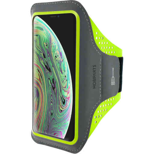 Casetastic Comfort Fit Sport Armband Apple iPhone X/XS Neon Green