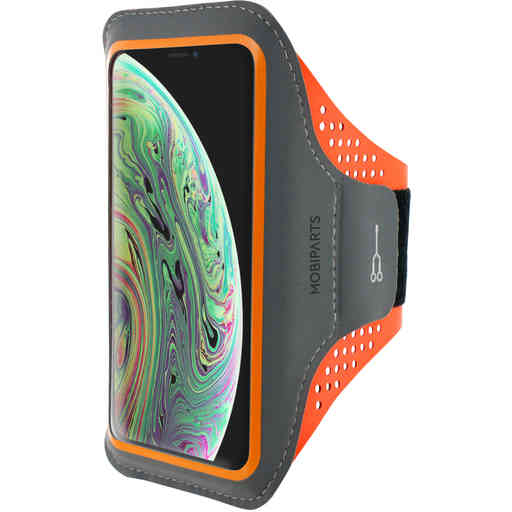 Casetastic Comfort Fit Sport Armband Apple iPhone X/XS Neon Orange