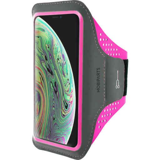Casetastic Comfort Fit Sport Armband Apple iPhone X/XS Neon Pink