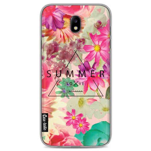 Casetastic Softcover Samsung Galaxy J7 (2017) - Summer Love Flowers