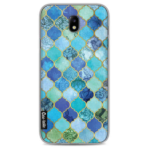 Casetastic Softcover Samsung Galaxy J7 (2017) - Aqua Moroccan Tiles