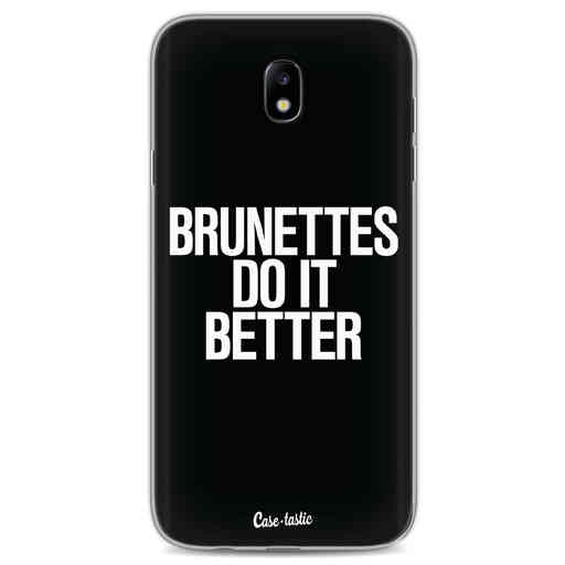 Casetastic Softcover Samsung Galaxy J7 (2017) - Brunettes Do It Better