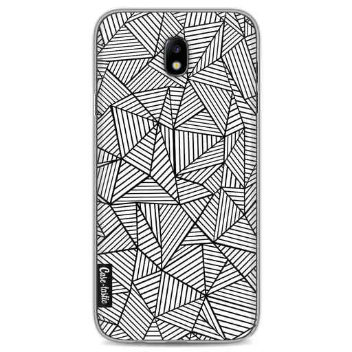 Casetastic Softcover Samsung Galaxy J7 (2017) - Abstraction Lines