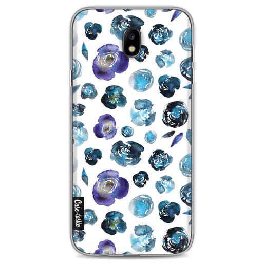 Casetastic Softcover Samsung Galaxy J7 (2017) - Flowers Blue