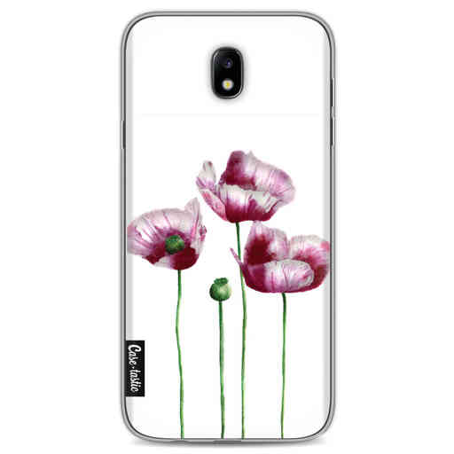 Casetastic Softcover Samsung Galaxy J7 (2017) - Poppies