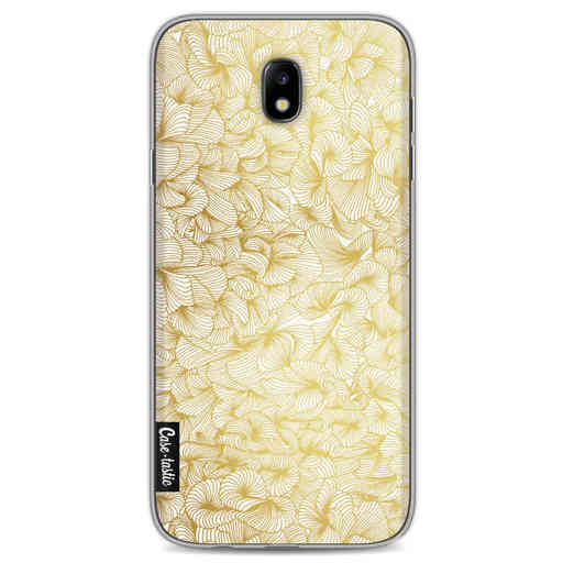 Casetastic Softcover Samsung Galaxy J7 (2017) - Abstract Pattern Gold