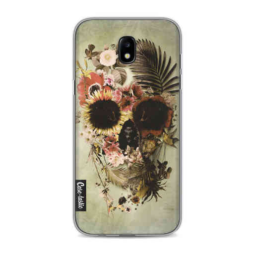 Casetastic Softcover Samsung Galaxy J5 (2017) - Garden Skull Light