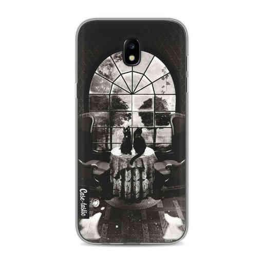 Casetastic Softcover Samsung Galaxy J5 (2017) - Room Skull BW