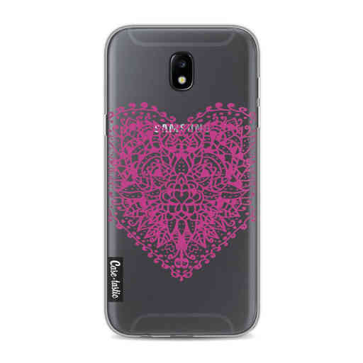 Casetastic Softcover Samsung Galaxy J5 (2017) - Doodle Heart