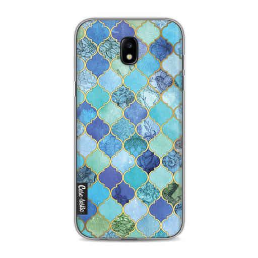 Casetastic Softcover Samsung Galaxy J5 (2017) - Aqua Moroccan Tiles