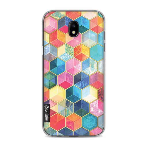Casetastic Softcover Samsung Galaxy J5 (2017) - Bohemian Honeycomb