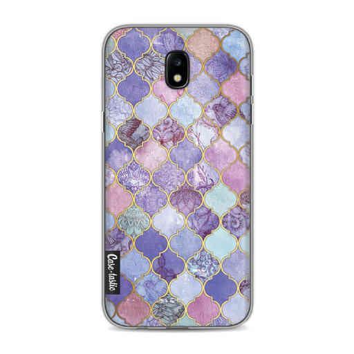 Casetastic Softcover Samsung Galaxy J5 (2017) - Purple Moroccan Tiles