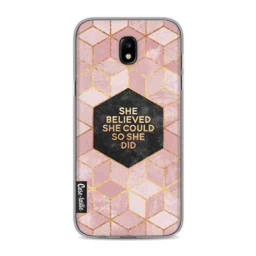 Casetastic Softcover Samsung Galaxy J5 (2017) - She Believed She Could So She Did