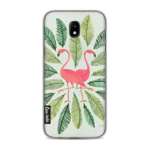 Casetastic Softcover Samsung Galaxy J5 (2017) - Flamingos Green