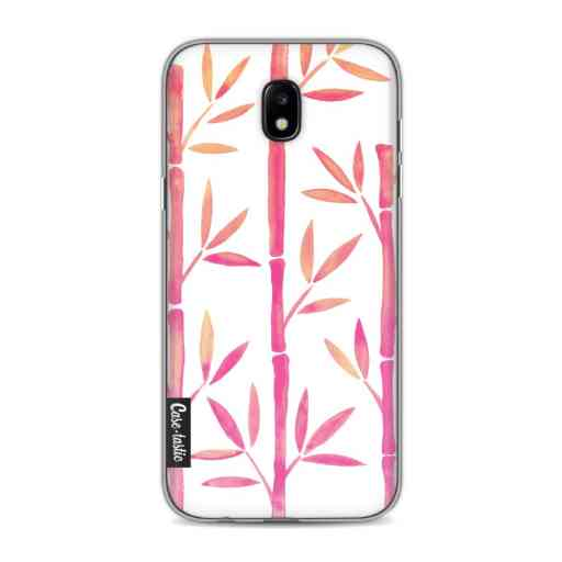 Casetastic Softcover Samsung Galaxy J5 (2017) - Pink Bamboo Pattern