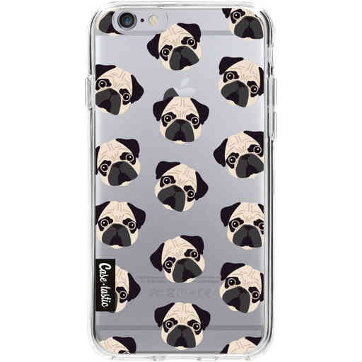 Casetastic Softcover Apple iPhone 6 / 6s - Pug Trouble