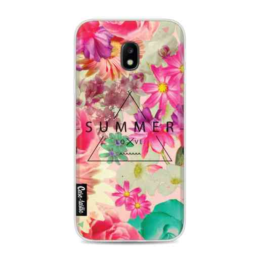 Casetastic Softcover Samsung Galaxy J3 (2017)  - Summer Love Flowers