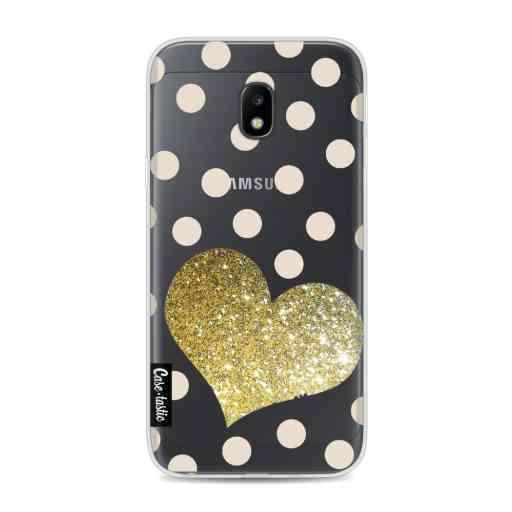 Casetastic Softcover Samsung Galaxy J3 (2017)  - Glitter Heart