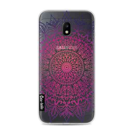 Casetastic Softcover Samsung Galaxy J3 (2017)  - Happy Mandala