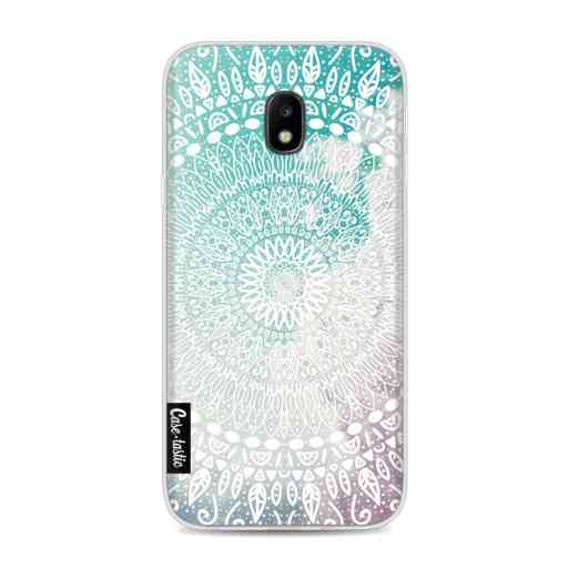 Casetastic Softcover Samsung Galaxy J3 (2017)  - Rainbow Mandala