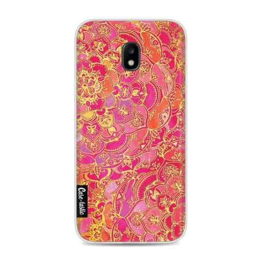 Casetastic Softcover Samsung Galaxy J3 (2017)  - Hot Pink Barroque