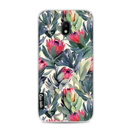 Casetastic Softcover Samsung Galaxy J3 (2017)  - Painted Protea