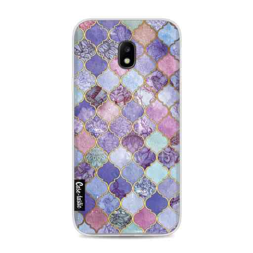 Casetastic Softcover Samsung Galaxy J3 (2017)  - Purple Moroccan Tiles
