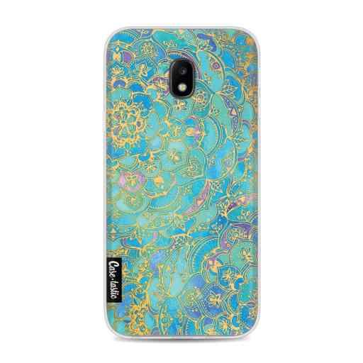 Casetastic Softcover Samsung Galaxy J3 (2017)  - Sapphire Mandala