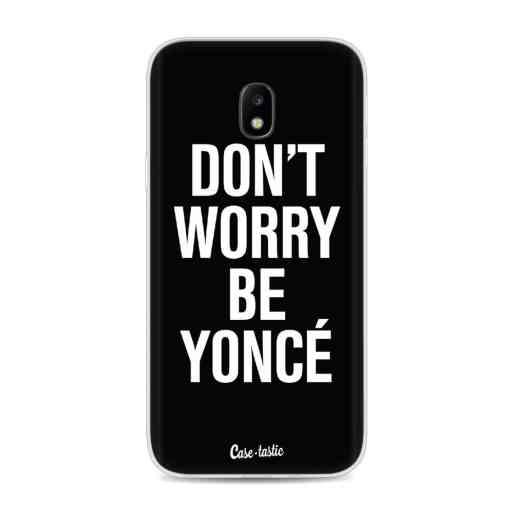 Casetastic Softcover Samsung Galaxy J3 (2017)  - Don't Worry Beyoncé