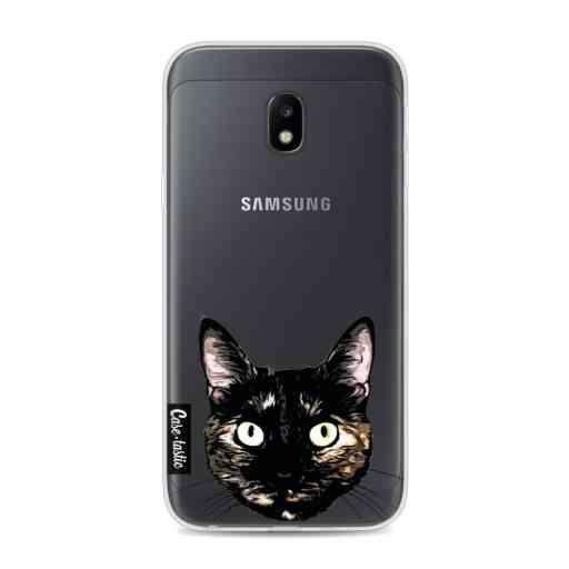 Casetastic Softcover Samsung Galaxy J3 (2017)  - Peeking Kitty