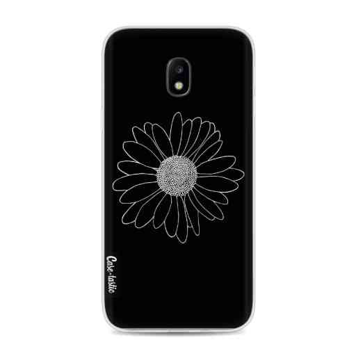 Casetastic Softcover Samsung Galaxy J3 (2017)  - Daisy Black