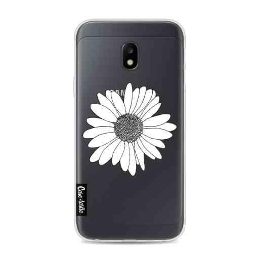 Casetastic Softcover Samsung Galaxy J3 (2017)  - Daisy Transparent