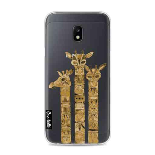 Casetastic Softcover Samsung Galaxy J3 (2017)  - Sepia Giraffes