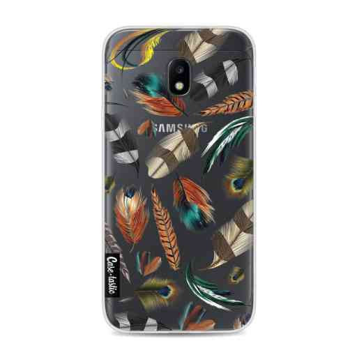 Casetastic Softcover Samsung Galaxy J3 (2017)  - Feathers Multi