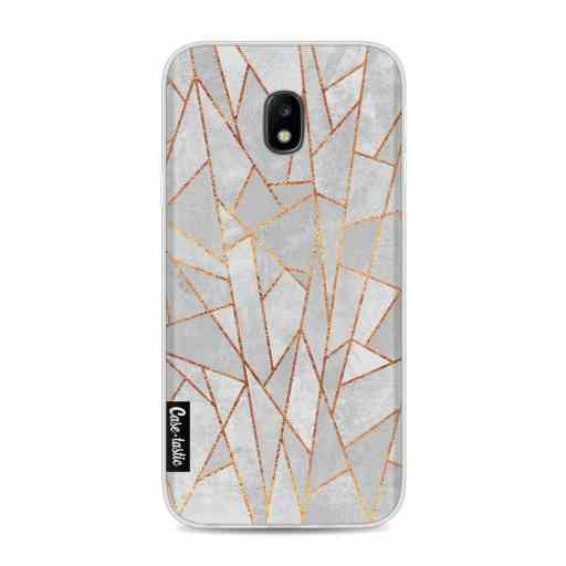 Casetastic Softcover Samsung Galaxy J3 (2017)  - Shattered Concrete
