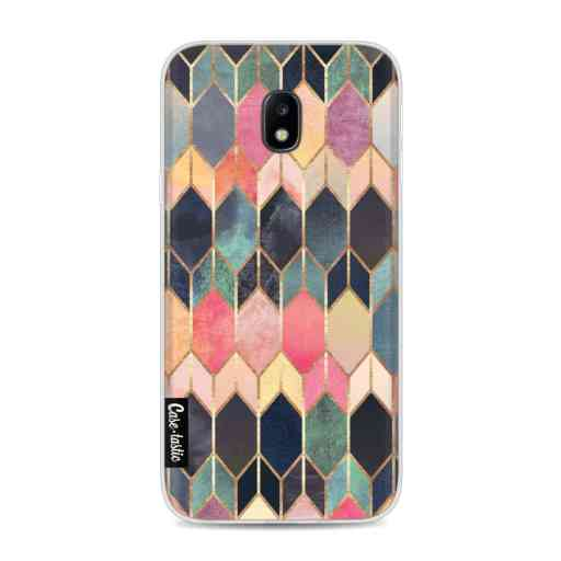 Casetastic Softcover Samsung Galaxy J3 (2017)  - Stained Glass Multi