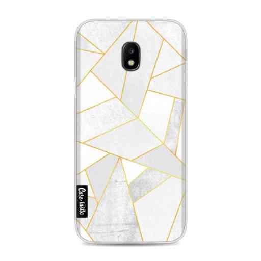 Casetastic Softcover Samsung Galaxy J3 (2017)  - White Stone