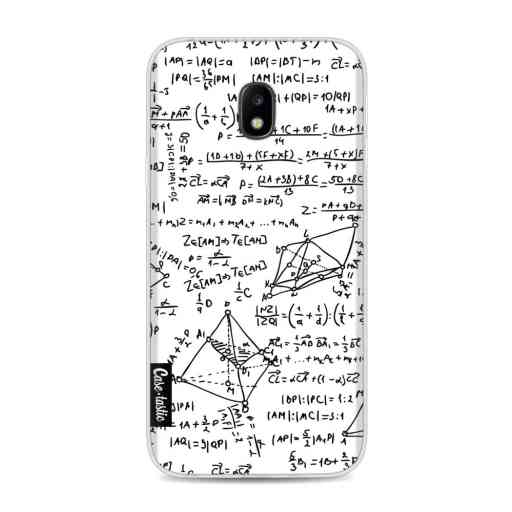 Casetastic Softcover Samsung Galaxy J3 (2017)  - You Do The Math White