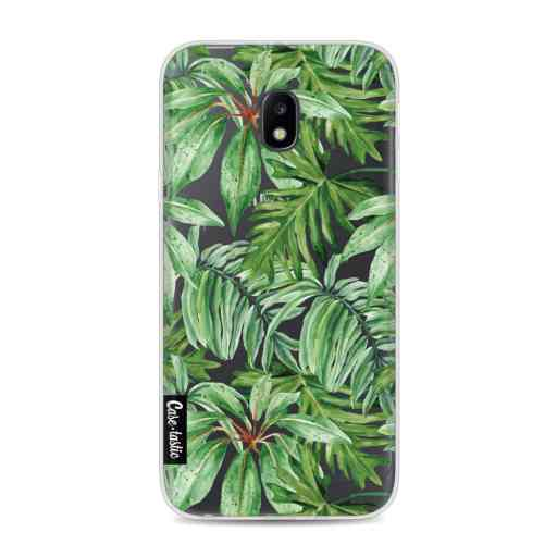 Casetastic Softcover Samsung Galaxy J3 (2017)  - Transparent Leaves