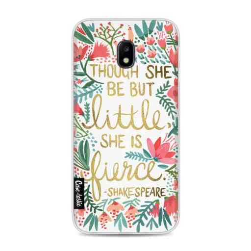 Casetastic Softcover Samsung Galaxy J3 (2017)  - Little Fierce White