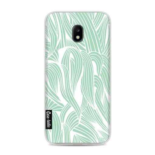 Casetastic Softcover Samsung Galaxy J3 (2017)  - Seam Foam Organic Print