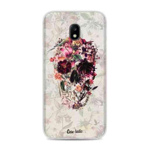 Casetastic Softcover Samsung Galaxy J3 (2017)  - Flower Skull